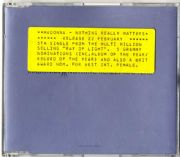 NOTHING REALLY MATTERS - UK PROMO CD (W471CCDJ)
